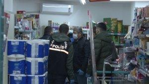 Kadıköy'de silahlı market soygunu