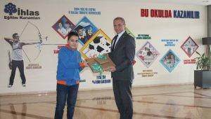 İhlas Koleji öğrencisi Türkiye birincisi