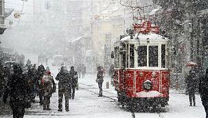 4 ilçeye kar yağışı bekleniyor