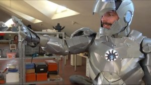 İşte yerli 'Iron Man'