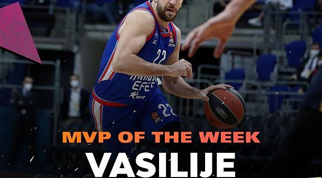 THY Euroleague'de haftanın MVP'si Vasilije Micic oldu