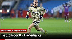Trabzonspor 0 - 1 Fenerbahçe
