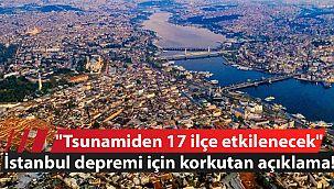 ''Tsunamiden 17 ilçe etkilenecek''