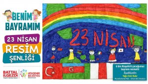 6 bin çocuk 23 Nisan'ı resmetti