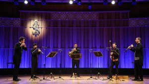 Anadolu Nefesli Beşlisi İş Sanat'a konuk oluyor