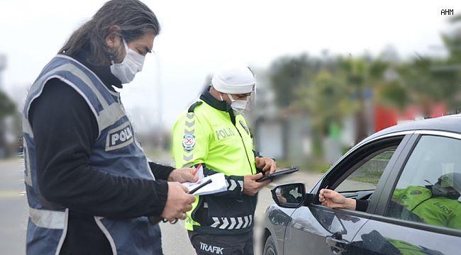 Avcılar'da İzin belgesi olmayan sürücülere ceza yağdı
