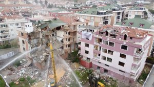 Kentsel Dönüşüm Kapsamında 3 Bina Yıkılıyor