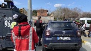 Okmeydanı'nda Özel Harekat destekli asayiş uygulaması yapıldı