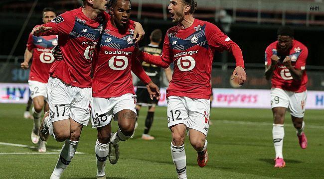 Bizim Çocuklar Fransa'da Lille'yi Lig Şampiyonu Yaptı