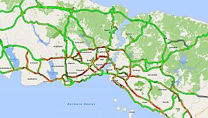 Hafta Sonu Kısıtlaması Öncesi Tekirdağ-İstanbul Yolunda Yoğunluk