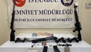 Silivri'de uyuşturucu operasyonu: 4 gözaltı