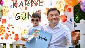 Maltepe Belediyesi Kreş Müdürlüğü'nün 'Gelişim Karnesi Töreni' renkli anlara sahne oldu