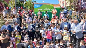 Üsküdar'da yeni açılan parka Şehit Eren Bülbül'ün adı verildi