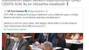 "AK Parti İstanbul İl Başkanı Kabaktepe'den İBB'ye ""sivrisinek"" tepkisi"