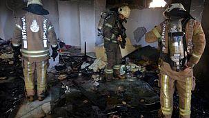 Avcılar'da delilleri yok etti iddiası polis ve itfaiyeyi harekete geçirdi