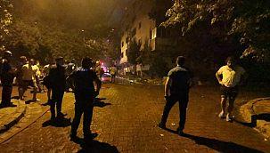 Avcılar'da metruk binada yangın