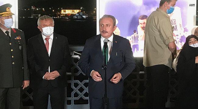 """TBMM Başkanı Şentop: """"Millet iradesine doğrudan kast eden bir hamle yapma imkanı Türkiye'de kalmamıştır"""""""
