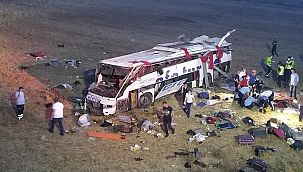 Balıkesir'de katliam gibi kaza: 14 ölü, 18 yaralı