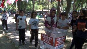 Esenlerli çocuklardan sel bölgesine yardım eli