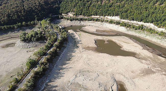 İstanbul barajlarının su seviyesi 58,57'ye düştü