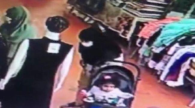 Avcılar'da bebek arabasından çanta çaldı