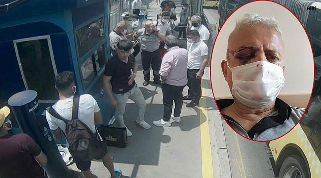 Avcılar'da Metrobüste Kör Eden Maske Uyarısı!