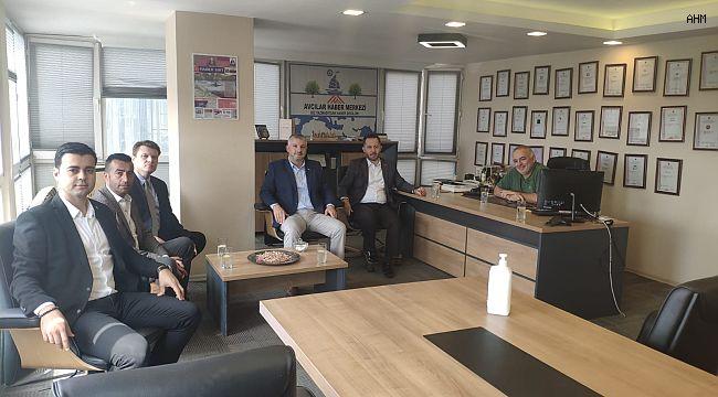 Abdullah Küçükoğlu'ndan Avcılar Haber Merkezimize Nezaket Ziyareti