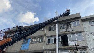 Eyüpsultan'da korkutan iş yeri yangını