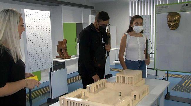 Görme engelli öğrenciler için inovatif atölye açıldı