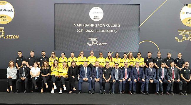VakıfBank Kadın Voleybol Takımı yeni sezona hazır