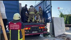 Avcılar'da feci olay, üzerine yüzlerce kiloluk mermer devrilen adam öldü