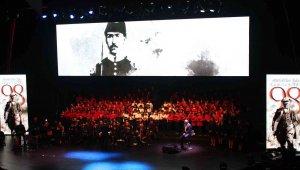 Cumhuriyetin çocuklarından 98. yıla özel 29 Ekim Konseri