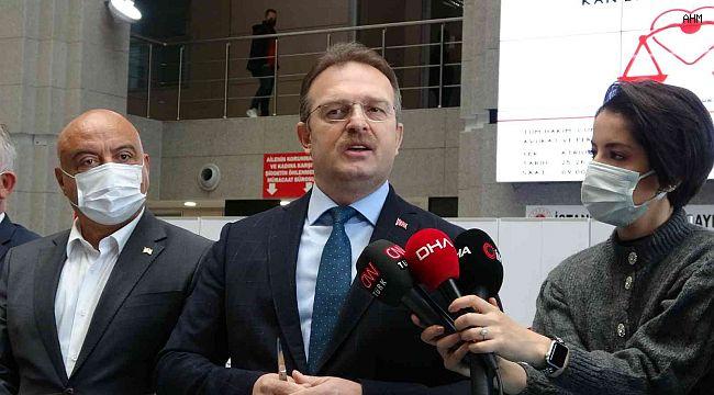 İstanbul Adliyesi'nde kan bağış noktası kuruldu, Başsavcı kan verdi