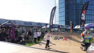 Kaykay tutkunları SPX Skate Weekend'de buluştu