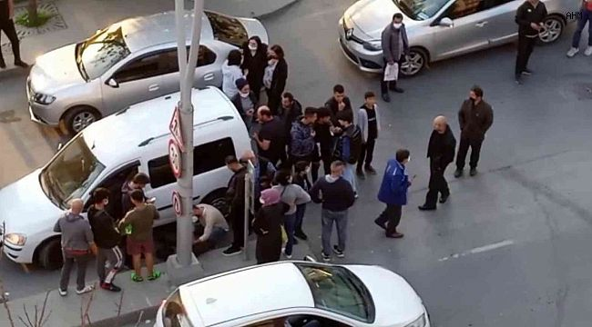 İstanbul'da yolun karşısına geçen yaşlı adam otomobil çarptı