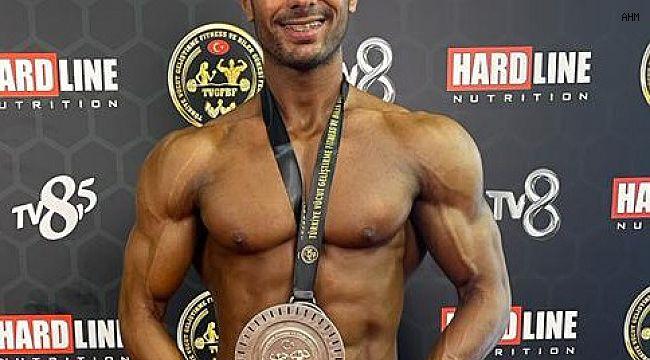 Vücut Geliştirmede Türkiye Şampiyonası gerçekleşti
