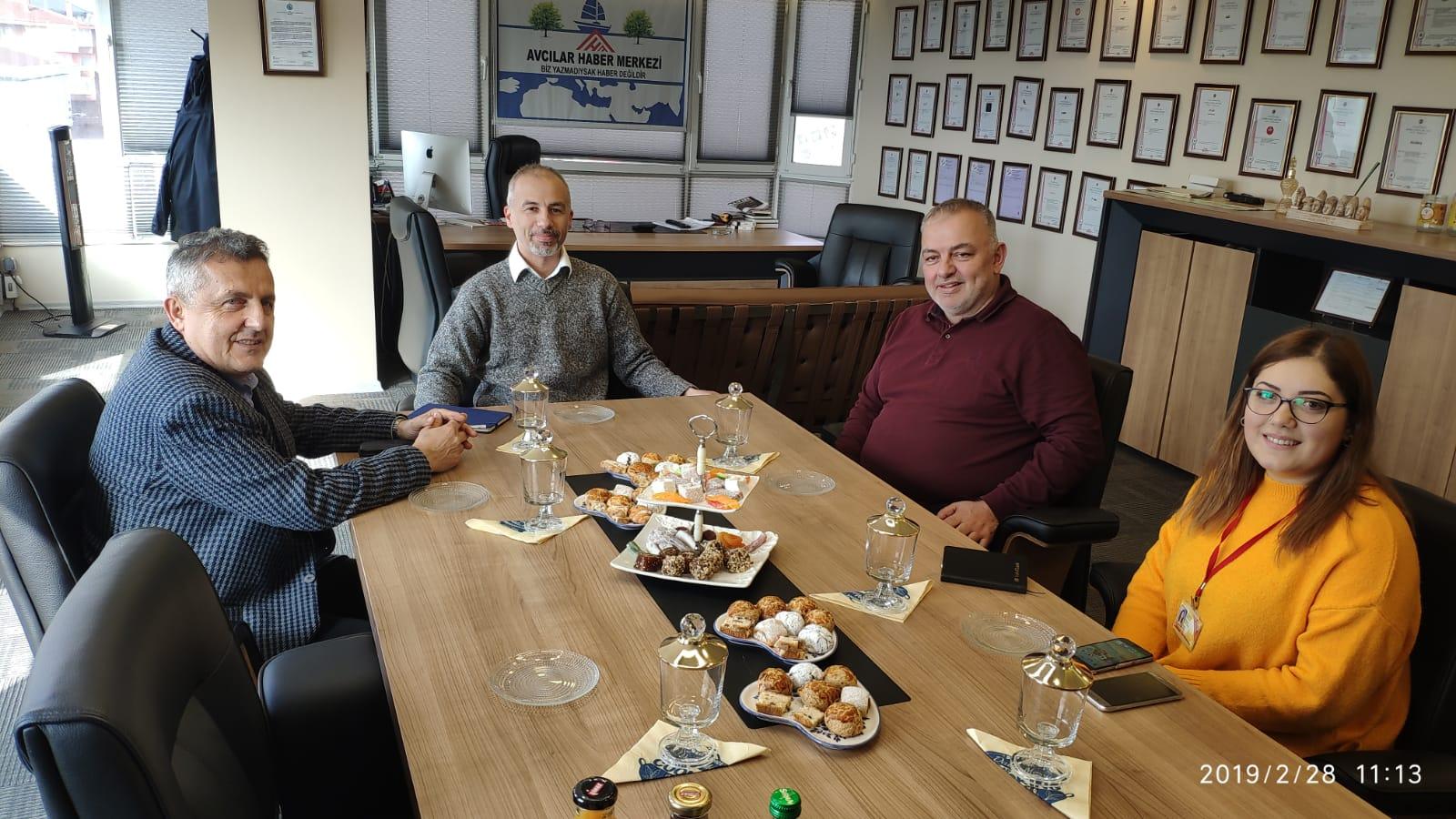 Bağımsız Sosyalist Belediye Başkan Adayı Dr. Savaş Karabulut Gazetemizi Ziyaret Etti