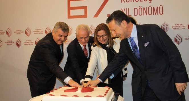 Türkiye Müteahhitler Birliğinin 67. kuruluş yıl dönümünde resepsiyon