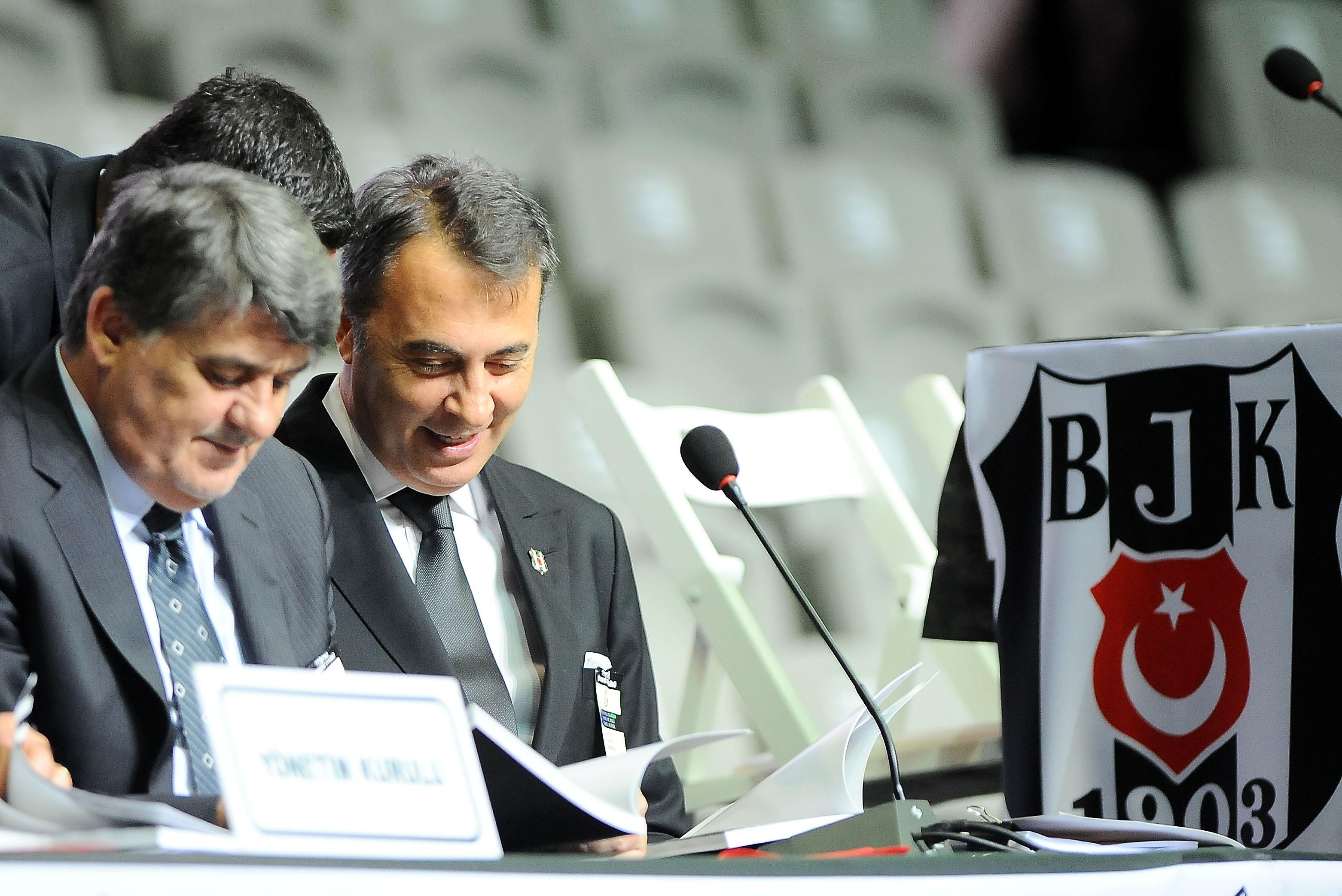 Beşiktaş'ta Olağan İdari ve Mali Genel Kurul Başladı