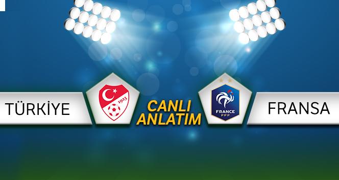 CANLI İZLE: Türkiye Fransa Canlı Anlatım | Türkiye Fransa maçı kaç kaç? | Türkiye Fransa
