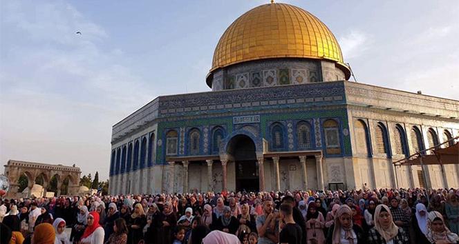 Filistinliler bayramı hüzünle kutluyor