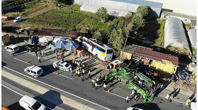 İstanbul'da Otobüs Kazası! Ölü ve Yaralılar Var