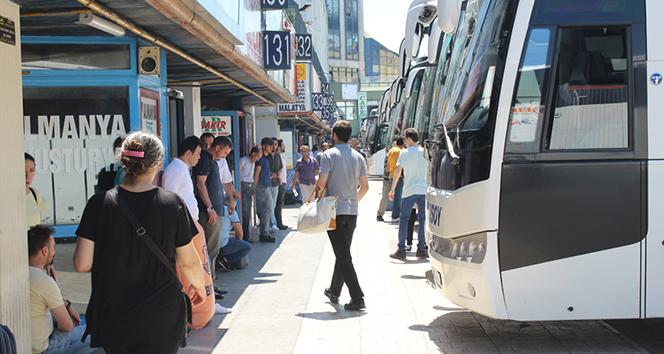 Kurban Bayramı öncesi, ek otobüs biletleri de tükendi