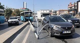 Halk Otobüsü Kaldırıma Çıktı, 5 Kişi Yaralandı