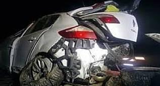 Beylikdüzü'nde kayganlaşan yolda kaza: 1 yaralı