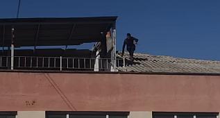 Avcılar'da Güvenlik Önlemi Almayan İşçi Az Daha Binadan Düşüyordu