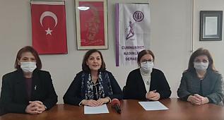 Cumhuriyet Kadınları Derneği HDP'nin Kapatılması İle İlgili Basın Açıklaması