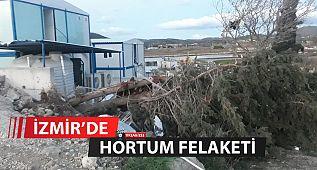 İzmir'de Hortum Felaketi