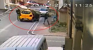 Esenyurt'ta taksiciyi gasp eden zanlı yakalandı