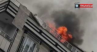 Esenyurt'ta şarja takılan cep telefonu patladı, yangın çıktı